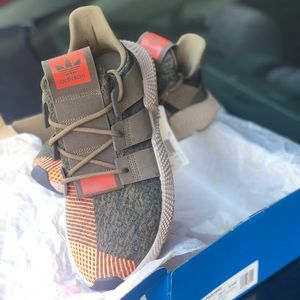 Adidas Prophere Running Shoes Men Size 10.5 Olive